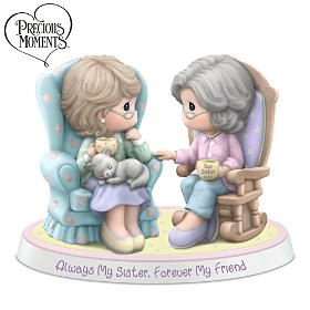 Precious Moments Always My Sister Forever My Friend Figurine