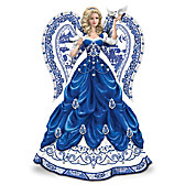 Sparkling Blue Willow Figurine