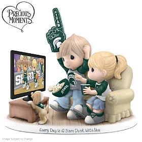 Every Day Is A Slam Dunk With You MI State Spartans Figurine