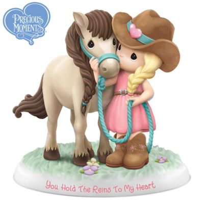 Precious Moments You Hold The Reins To My Heart Figurine by