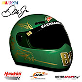 Dale Jr. Dew Shine 2015 Mini Helmet Sculpture