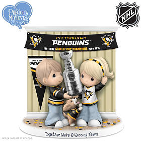 Together We're A Winning Team Penguins® Figurine