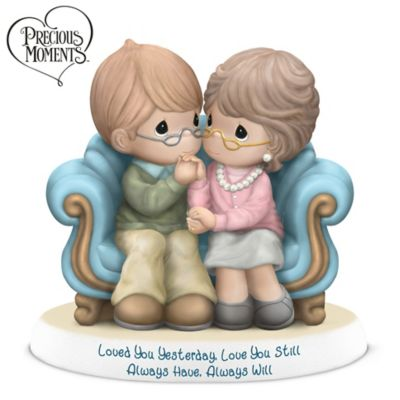 Precious Moments Loved You Yesterday Love You Still Figurine by