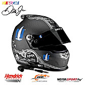 Dale Earnhardt Jr. #88 Nationwide Skull Racing Helmet