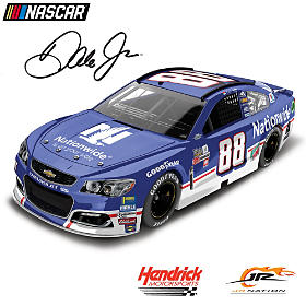 Dale Earnhardt Jr. No. 88 Nationwide Throwback Diecast Car