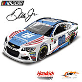 Dale Jr. No. 88 Nationwide Patriotic 2017 Diecast Car