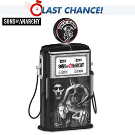 Sons Of Anarchy Fueled ByThe Reaper Gas Pump Sculpture