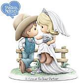 Precious Moments I'll Forever Be Your Partner Figurine