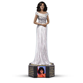 Michelle Obama By Keith Mallett Figurine