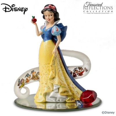 Disneys Snow White Fairest Of Them All Figurine Enhanced