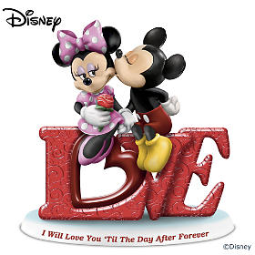 Disney I Will Love You 'Til The Day After Forever Figurine
