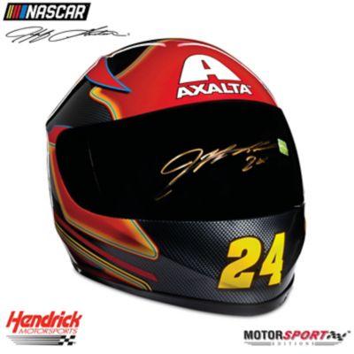 Hand-Autographed Jeff Gordon Axalta Racing Helmet by