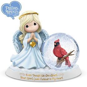 Your Spirit Lives Forever In My Heart Figurine