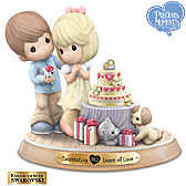 Precious Moments Celebrating 40 Years Of Love Figurine
