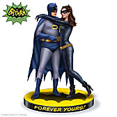 Forever Yours: BATMAN and CATWOMAN Sculpture