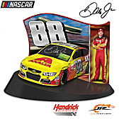Dale Jr. Race To Victory Autographed Tribute Sculpture