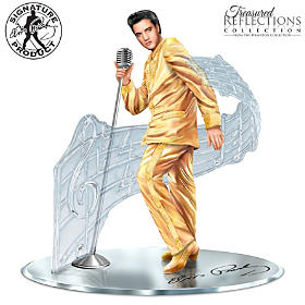 Treasured Reflections Of Elvis Presley Sculpture