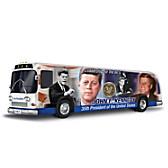 John F. Kennedy Presidential Tour Bus Sculpture