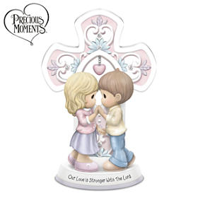 Precious Moments Our Love Is Stronger With The Lord Figurine