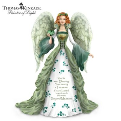 Tinker Bell /'I Love You To The Moon And Back/' Figurine By The Bradford Exchange