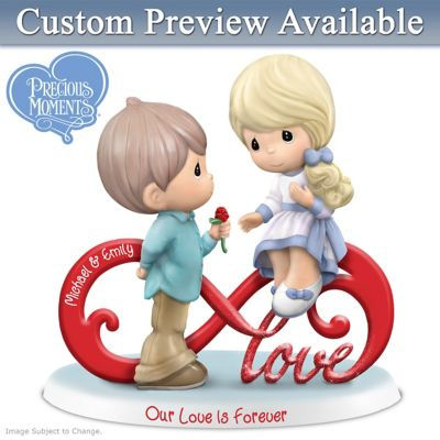 Precious Moments Personalized Figurine Celebrates Your Love by