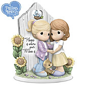 Precious Moments Home Is Where Your Mom Is Figurine