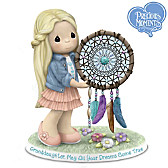 Granddaughter, May All Your Dreams Come True Figurine