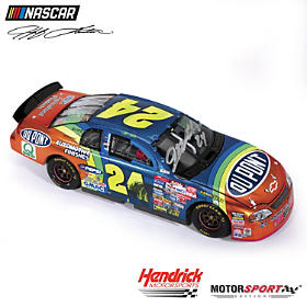 Jeff Gordon No. 24 1997 Daytona 500 Raced Win Diecast Car