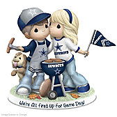 Precious Moments We're All Fired Up For Game Day Figurine