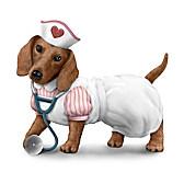 Nurses Are Su-paw Heroes Figurine