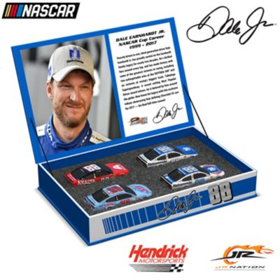1:64-Scale Dale Jr. Race To The Finish 2017 Diecast Car Set by