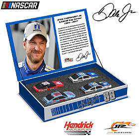 Dale Jr. Race To The Finish 2017 Tribute Diecast Car Set