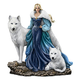 Queen Alabaster, Guardian Of The Moon Figurine