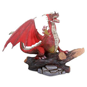 Red Dragon Figurine