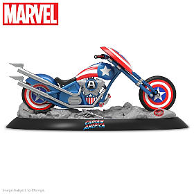 CAPTAIN AMERICA'S Freedom Flyer Sculpture