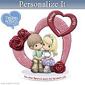 You Have My Whole Heart Personalized Figurine