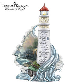 Thomas Kinkade The Light Of Life Sculpture