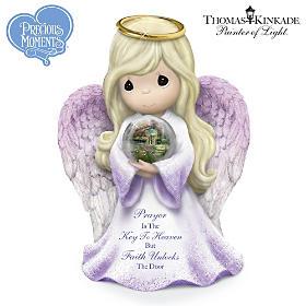 Prayer Is The Key To Heaven Faith Unlocks The Door Figurine