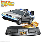 Back To The Future DeLorean Sculpture