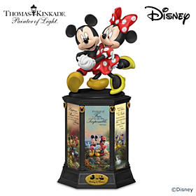 Mickey Mouse & Minnie Mouse Dreams Are Magical Sculpture