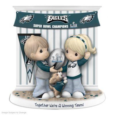 Precious Moments Eagles Super Bowl LII Champions Figurine by