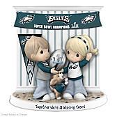Together We're A Winning Team Philadelphia Eagles Figurine