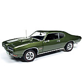 1:18-Scale 1968 Pontiac GTO HT Diecast Car