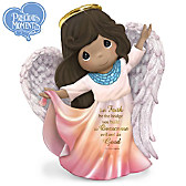 Precious Moments Let Faith Be The Bridge Figurine