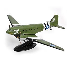 1:72-Scale WWII Douglas C-47 Skytrain Diecast Airplane