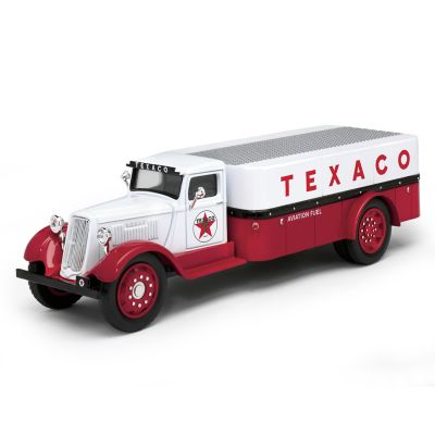 1:38-Scale Texaco 1935 Diecast Aviation Fuel Truck Bank by