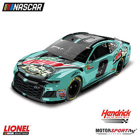 Chase Elliot No. 9 Mountain Dew Baja Blast 2018 Diecast Car