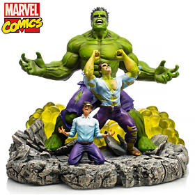 HULK: The Monster Within Sculpture