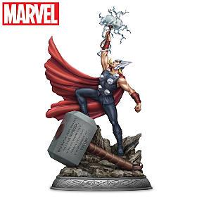 Thor, For Asgard! Sculpture