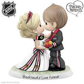 Chicago Blackhawks® Love Forever Figurine